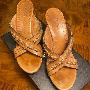 Cole Haan Boho Leather Slip Ons